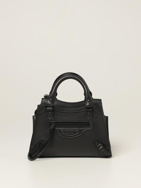 Balenciaga women: Neo Classic City mini Balenciaga bag in textured leather