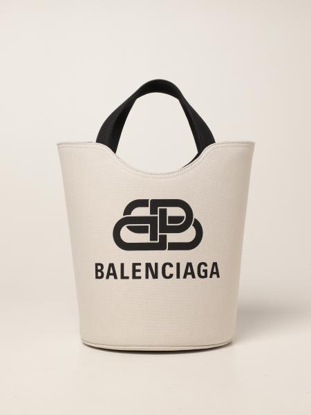 Balenciaga women: Wave Tote M Balenciaga bag in canvas