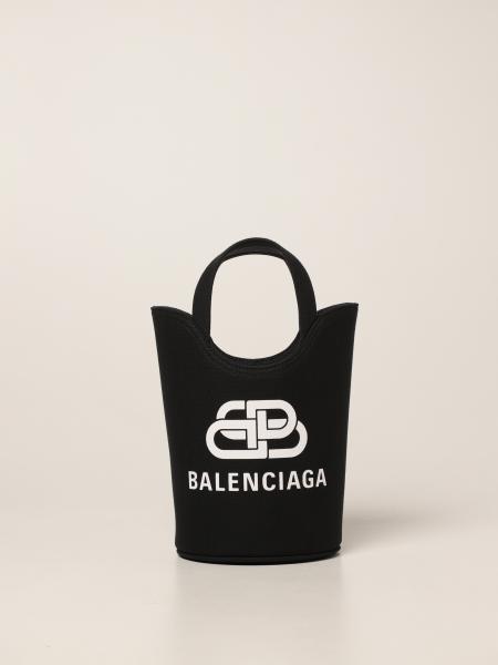 Balenciaga women: Wave Tote Xs Balenciaga bag in canvas
