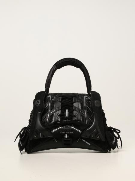 Balenciaga women: Balenciaga SneakerHead Top Handle bag in mesh