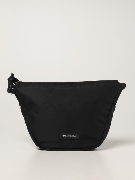 Balenciaga women: Balenciaga Oversized Sling bag in recycled nylon
