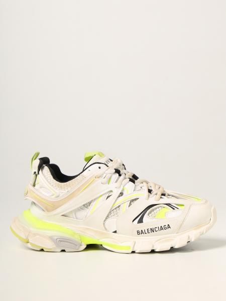 Sneakers Track Balenciaga in mesh e pelle sintetica