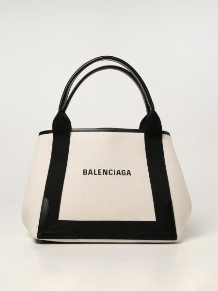 Balenciaga women: Cabas S Balenciaga bag in cotton canvas