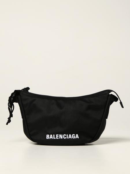 Balenciaga: Borsa Wheel Sling Balenciaga in nylon riciclato