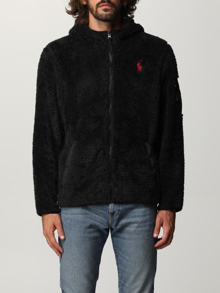 Polo Ralph Lauren fleece sweatshirt with logo