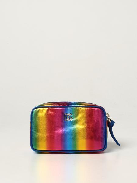 Dolce & Gabbana pouch in nylon and calfskin