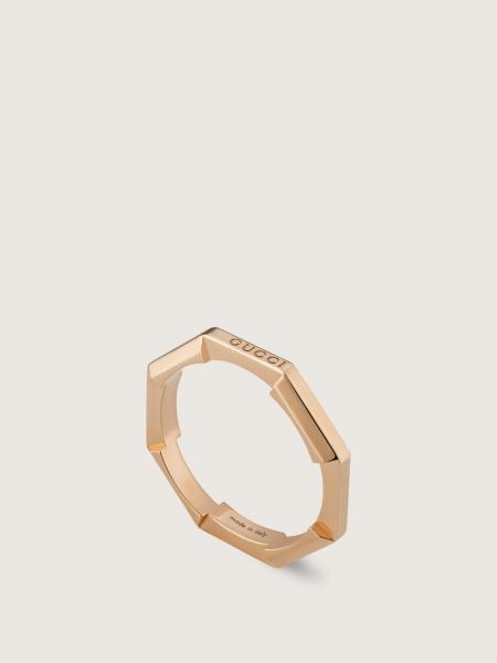 Gucci: L2l anello oro rosa 18kt - 3mm
