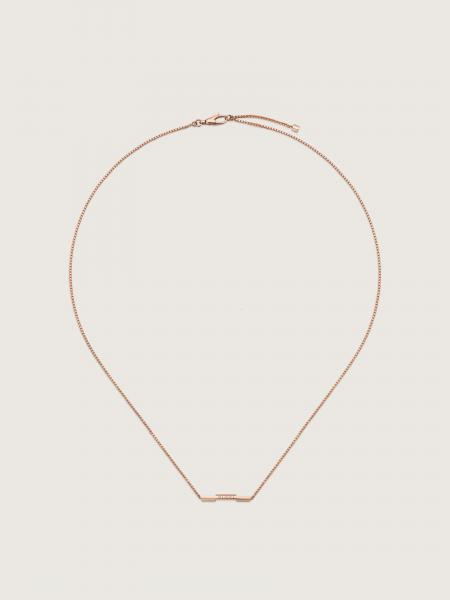 Gucci: L2l necklace in 18kt pink gold - lenght 42-45cm