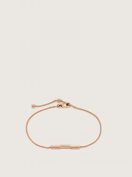 Gucci: L2l soft bracelet in 18kt pink gold