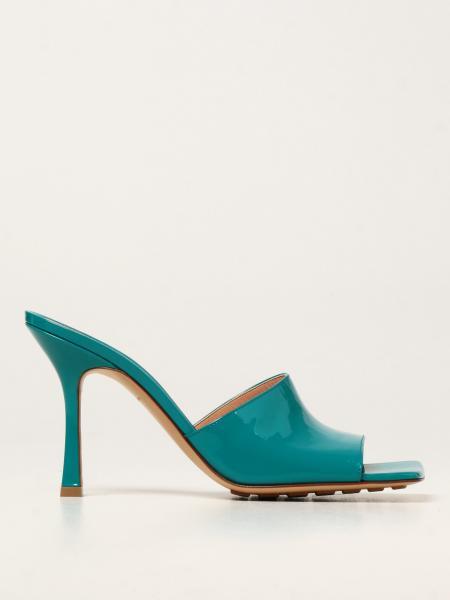 Bottega Veneta Stretch Sandal mules in patent leather