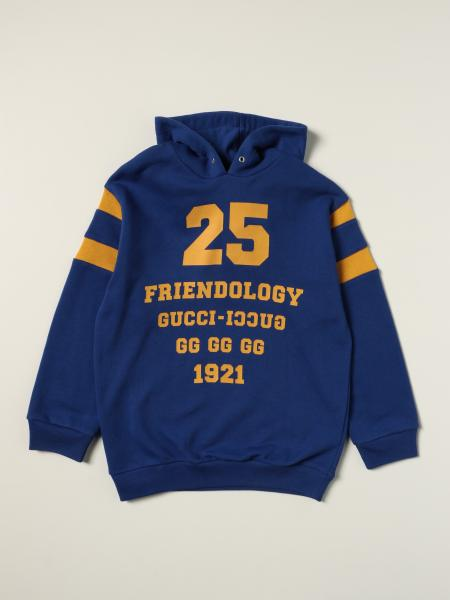Gucci: 1921 Friendology Gucci jumper in cotton with logo