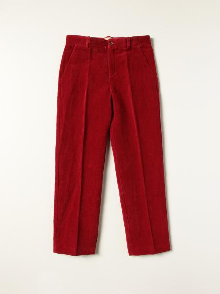 Gucci: Gucci trousers in ribbed cotton