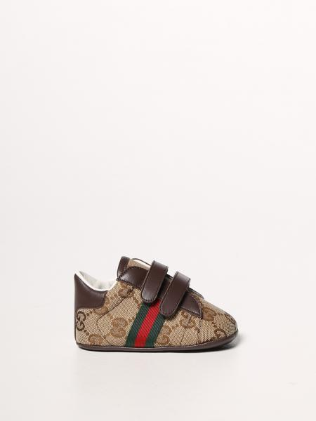 Gucci Ace sneakers in Original GG fabric with Web bands