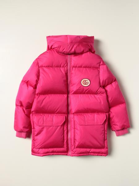 Gucci down jacket in padded nylon