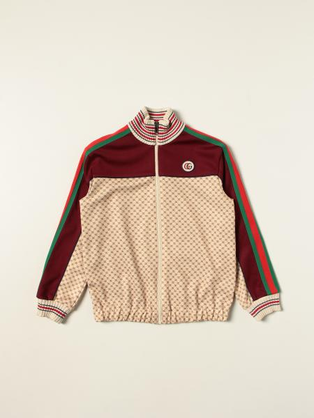 Gucci: Gucci zip jumper with all over GG logo