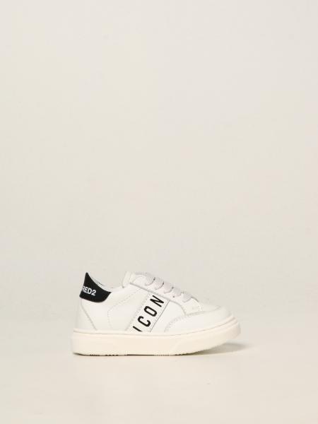 Sneakers Icon Dsquared2 Junior in pelle