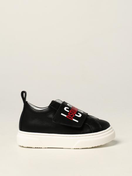 Icon Dsquared2 Junior sneakers in leather