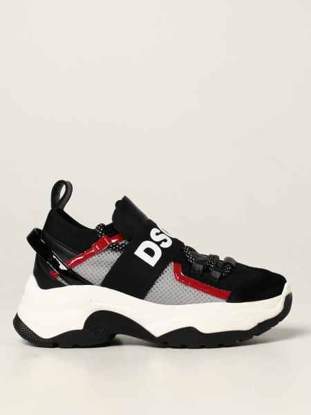 D2 Dsquared2 Junior sneakers with band and big logo