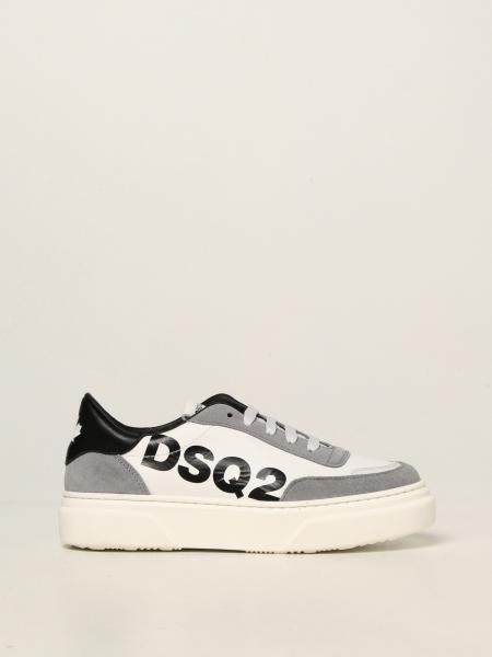 Sneakers Dsquared2 Junior in pelle