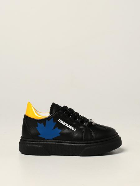 Dsquared2 Junior leather sneakers