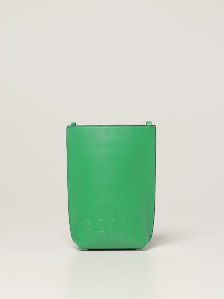 Ganni bag in recycled leather