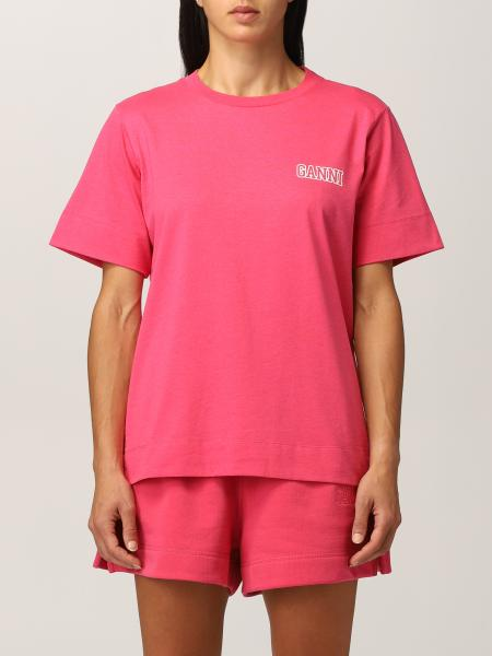 Ganni Software T-shirt in recycled EcoLife® yarn