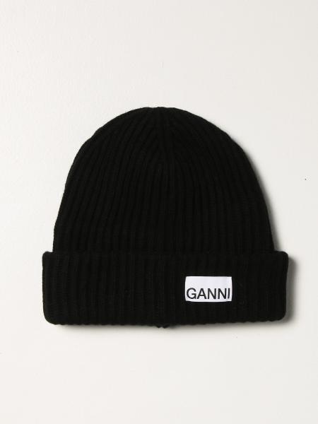 Cappello a berretto Ganni con logo
