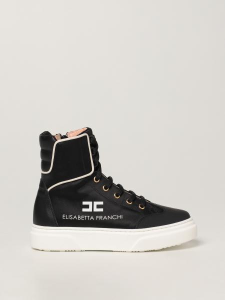 Sneakers Elisabetta Franchi in pelle e tessuto
