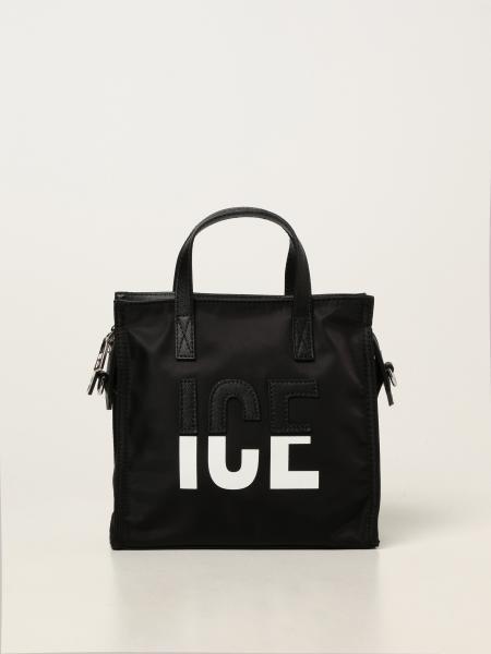 Ice Play nylon bag with two-tone logo