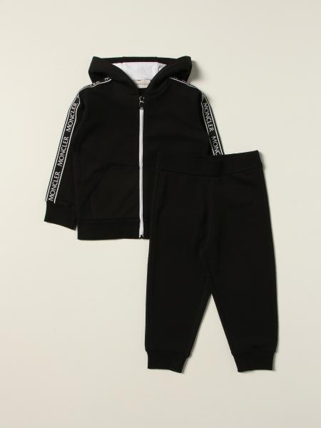 Set felpa + pantalone jogging Moncler in cotone