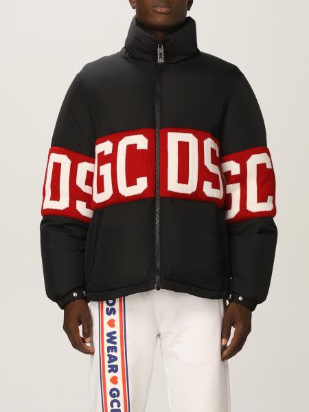 Gcds nylon down jacket with big logo