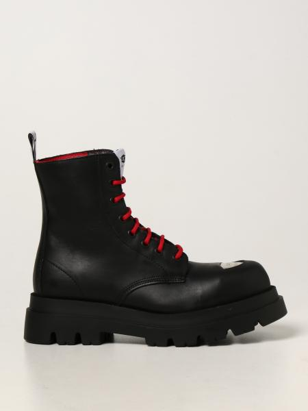 Cult Bolt combat boots in leather