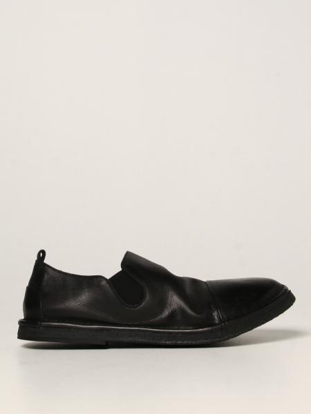 Pantofola Parellara Marsèll in pelle nabukata