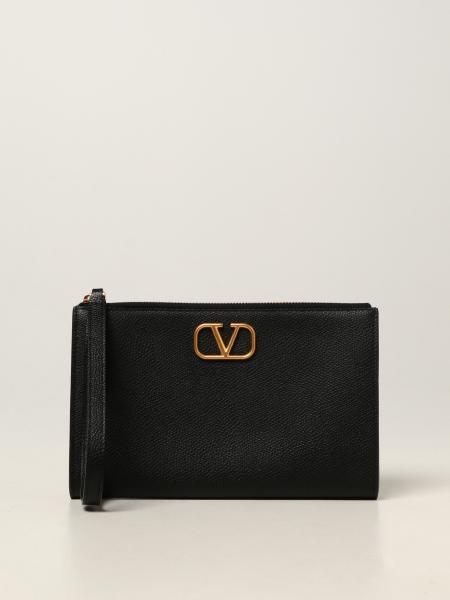 Valentino: Pochette da polso VLogo Valentino Garavani