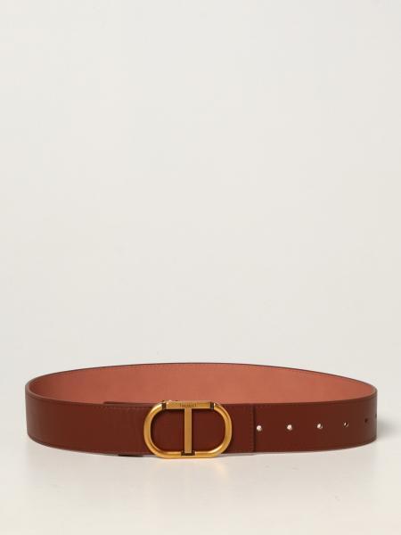 Cintura Twin-set in pelle bovina