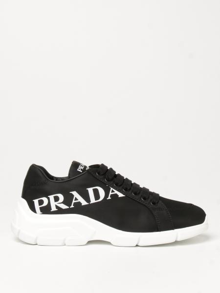 Sneakers Prada in gabardine re-nylon