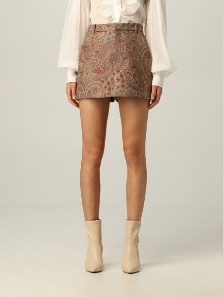 Etro: Etro shorts in Paisley jacquard fabric