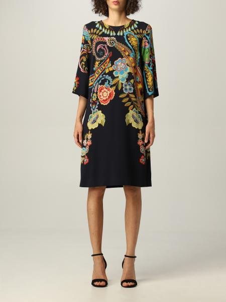 Etro: Etro viscose dress with Paisley print