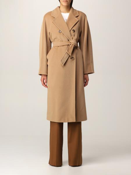 Max Mara women: 101801 Icon Max Mara double-breasted coat