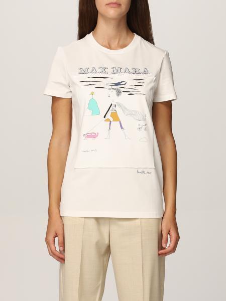 T-shirt Bambina Max Mara in cotone