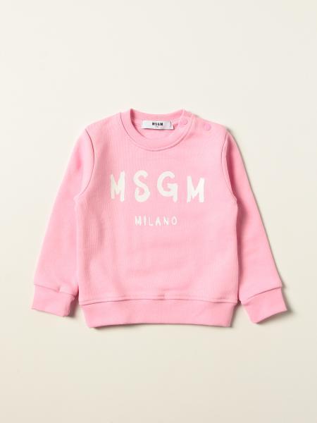 Felpa Msgm Kids con stampa logo