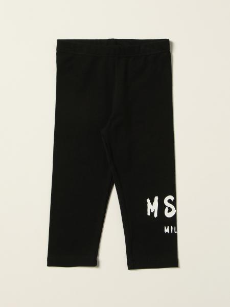 Leggings Msgm Kids con logo all over