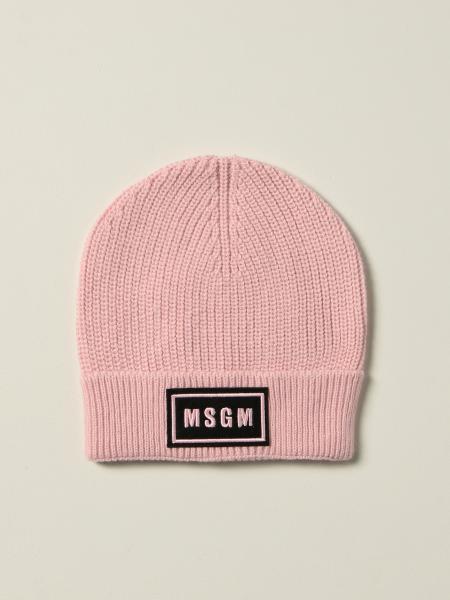Cappello a berretto Msgm Kids con logo