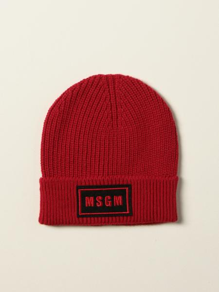 Msgm Kids hat with logo