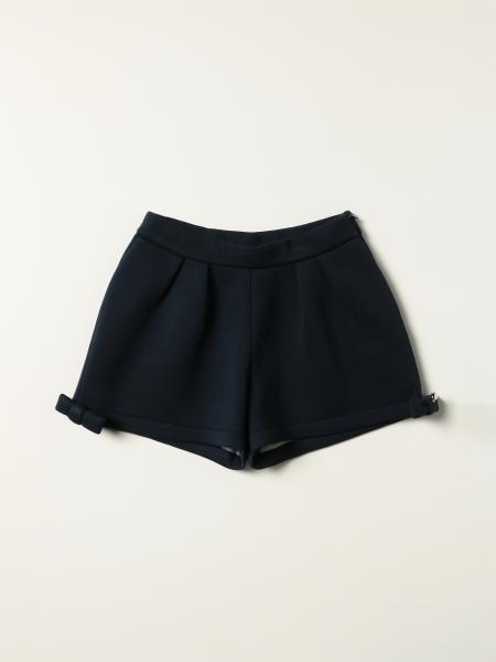 Simonetta shorts with bow
