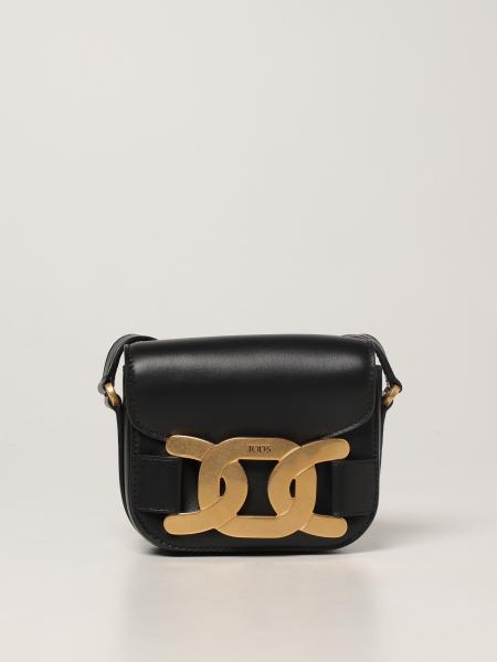 Tod's crossbody bag in leather with chain
