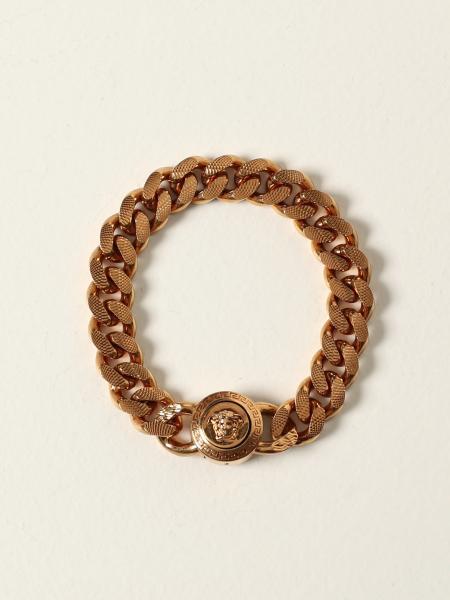 Versace chain bracelet with Medusa