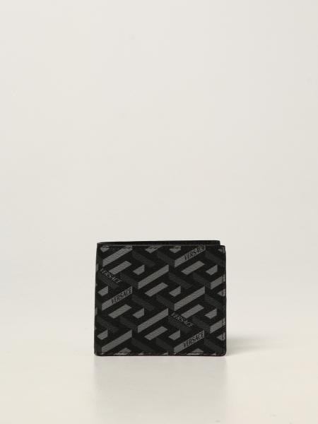 La Greca Versace wallet with all over logo