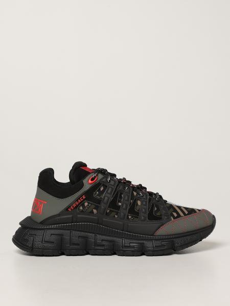 Versace uomo: Sneakers Trigreca Versace in nylon