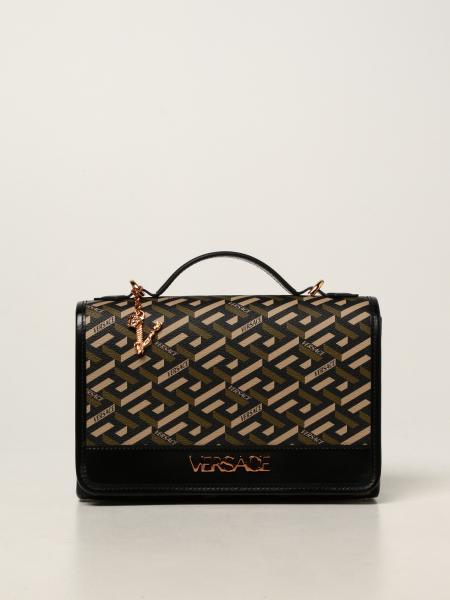 Versace: Наплечная сумка Женское Versace